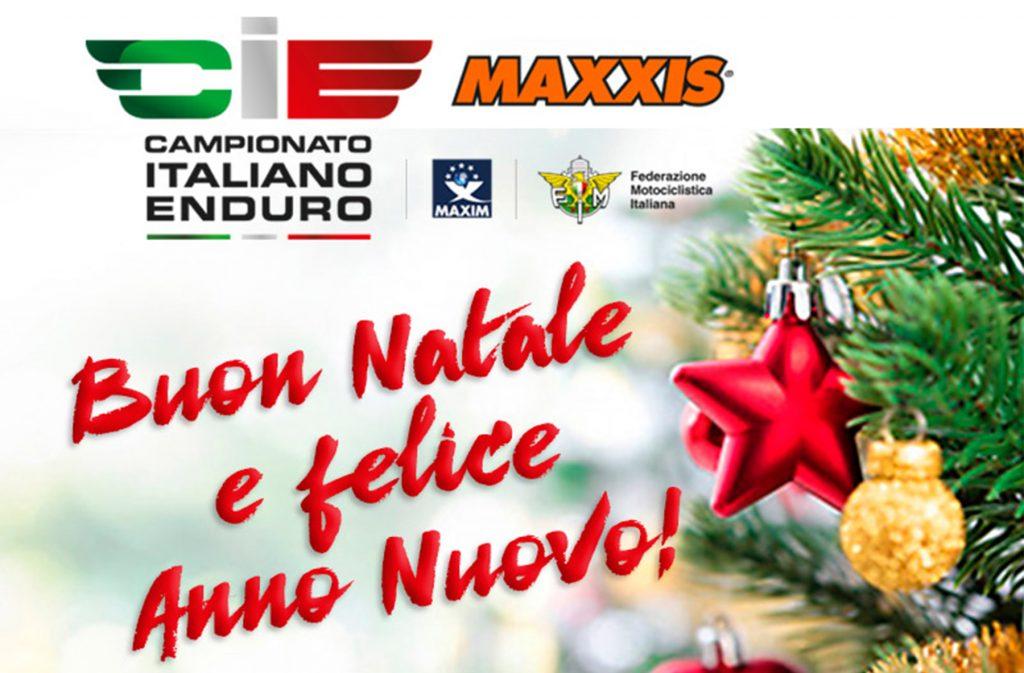 Buon Natale Anno Nuovo.Buon Natale E Felice Anno Nuovo Italiano Enduro
