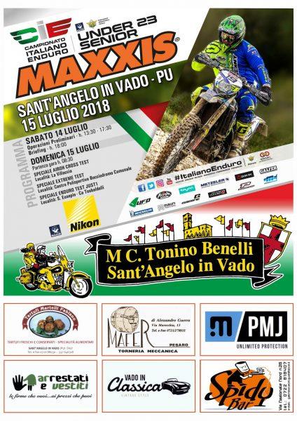 4^ P. CAMP. UND23/SEN ENDURO ITALIANO A SANT'ANGELO IN VADO (PU) 15 LUGLIO 2018