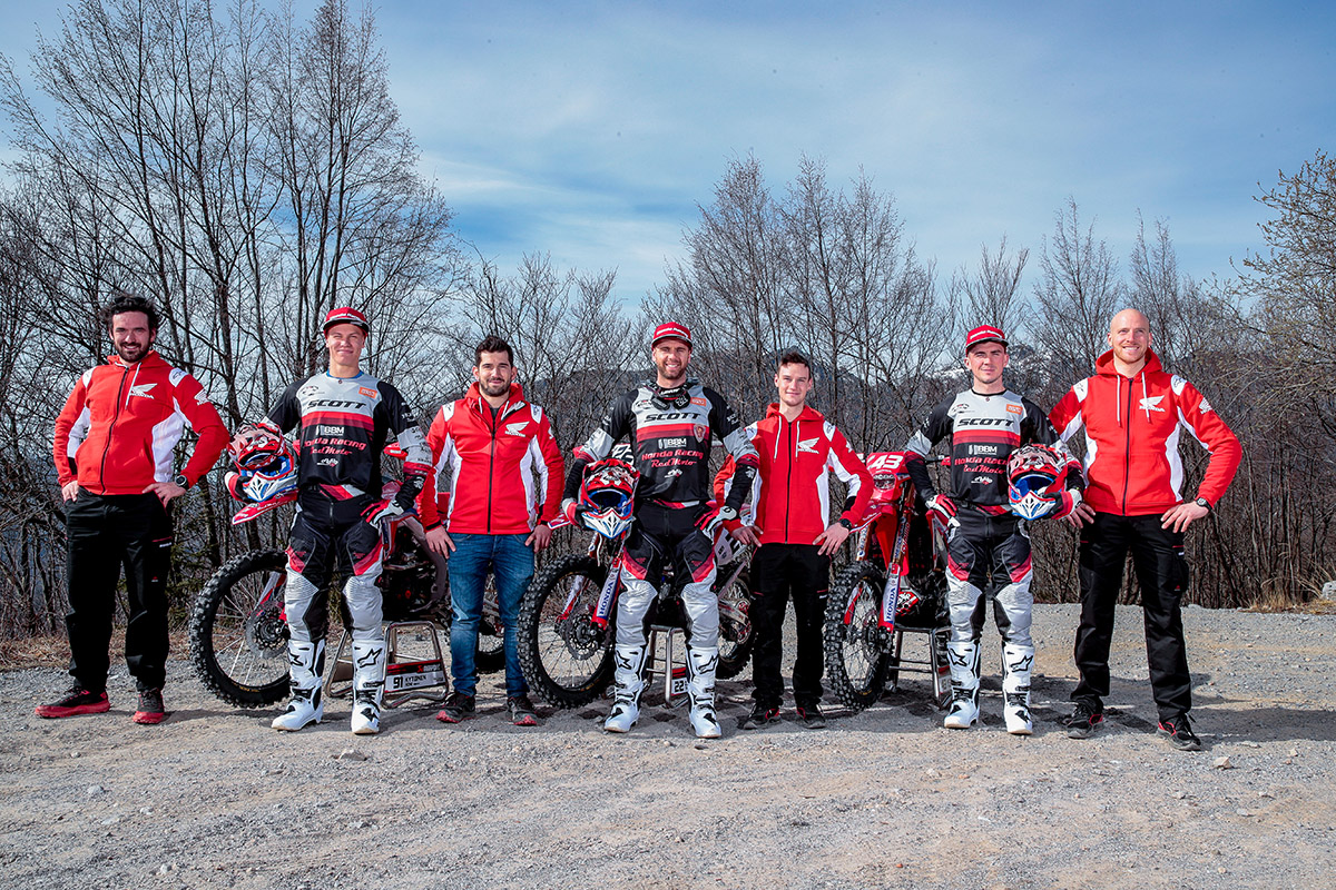 Honda RedMoto World Enduro Team